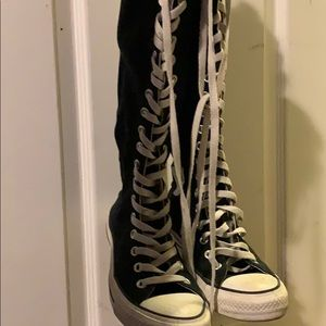 3e5f785a2710b6 Women s Converse Knee High Shoes on Poshmark